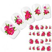 Nagel Sticker Nail Art Aufkleber Flower Blumen Nägel Water Decal