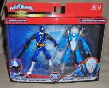 2017 Power Rangers Ninja Steel Good vs Evil Blue Ranger & Ripperrat Set NEW