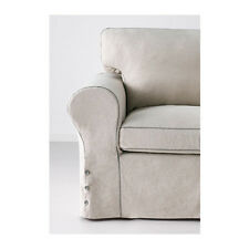 Ikea Ektorp 2 seater sofa & chaise  COVER ONLY RISANE NATURAL NEW 602.426.09
