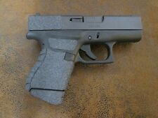 Sand Paper Pistol Grip Enhancements for the Glock 43 9mm