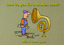 MAGNET DUMB JOKES How Do You Fix a Broken Tuba