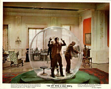 The Spy With A Cold Nose Originl Lobby Card Laurence Harvey In Bubble