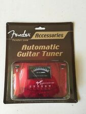 Fender AG-6 Guitar/bass Automatic Tuner ~::RED SPARKLE::~