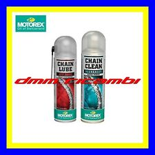 Kit Pulizia + Lubrificante Catena MOTOREX Chain Lube Off-Road Clean ATV QUAD