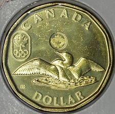CANADA 1$ Dollar 2012 OLYMPICS in MS