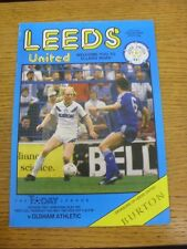 14/05/1987 Play-Off Semi-final división 2: Leeds United v Oldham Athletic (grupo