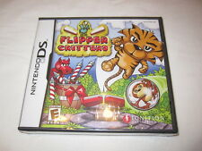 Flipper Critters (Nintendo DS) Brand New, Factory Sealed!