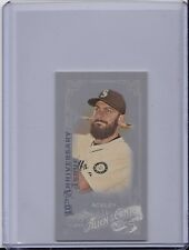 Dustin Ackley 2015 Topps Allen Ginter X Silver Mini 10th Anniversary White #205