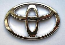 FRONT BOOT BONNET CHROME BADGE EMBLEM NEW AYGO YARIS PRIUS LOGO BADGE