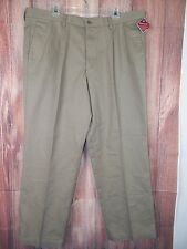 Dockers Classic Fit Pleated with Waistband Khaki Pants Size 42W x 30L NWT #9