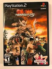 Tekken 5 - Playstation 2 - Replacement Case - No Game