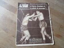 JOURNAL MIROIR DES SPORTS BUT CLUB  722 29 decembre 1958 jacques herbillon