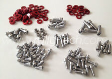 RALLYTECH MITSUBISHI EVO EVOLUTION 4,5,6,7,8,8 ENGINE DRESS UP BOLTS 4G63