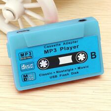 Blue 16GB Support USB Disk Cassette Flash Music MP3 Player SD TF Card Earphone