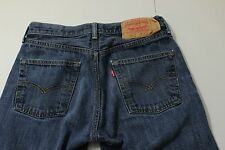 Mens Levi's 501 Medium Blue Straight Leg Zip Fly 29 x 32 Jeans C9