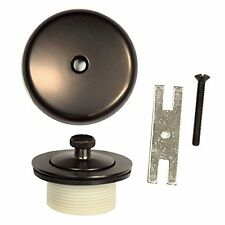 Danco 89487 Universal Lift and Turn Tub Drain Trim Kit with Overflow in Oil