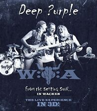 DEEP PURPLE - FROM THE SETTING SUN...(IN WACKEN)  3D BLU-RAY NEW+