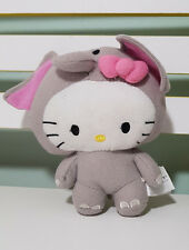 HELLO KITTY PLUSH TOY SOFT TOY CHARACTER TOY SANRIO DRESSED AS AN ELEPHANT!