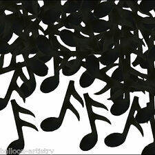 28g Music Musical Notes Black & White Children's Party Confetti Table Sprinkles