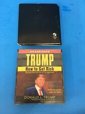 How to Get Rich by Donald J. Trump & Think Like Billionaire 5 CD Audio Books XD