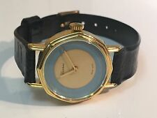 Lucerne Swiss Vintage Ladies  Gold Tone Mechanical Hand Winding Watch (L-323S)