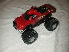 TASMANIAN DEVIL TAZ RED  1/24 SCALE MONSTER JAM TRUCKS OLD HOTWHEELS NICE