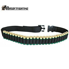 "52"" 25Round Shotgun Shell Ammo Belt Nylon Sling Bandolier for .410 12 20 24 GA"