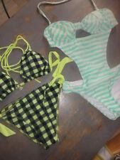 Lot de 2 maillots de bain: bikini Banana moon et trikini retro, 38, Tbe
