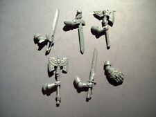 Space Marine Blood Angel Sanguinary Guard Close Combat Weapons bits, 40K GW