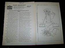 AUTOMATIC CHOKE CARBURETTORS PATENT FOR I.C. ENGINES.CARTER, ST. LOUIS, USA.1939