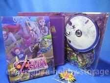 [NEW]THE LEGEND OF ZELDA MAJORA'S MASK 3D Original Soundtrack CD Limited Edition
