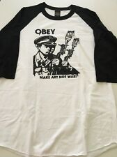 New OBEY Mens Graphic Tee T-Shirt Skate Surf Street Size X Large Retail $34
