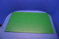 LEGO 1 x Platte Grundplatte 24x40 40x24 grün eine Stelle gebrochen #PL68