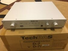 TechDAS D7i Supreme DAC From SuperJapanese H-end Audio Air Force One MINT Cond