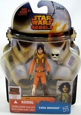 "Star Wars Rebels 3.75"" Ezra Bridger Hasbro Force Awakens Kanan Sabine Zeb Hera"