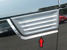 FITS DODGE NITRO 2007-2009 POLISHED STAINLESS CHROME SIDE VENT ACCENT TRIM 2PCS
