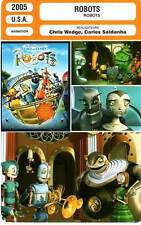 FICHE CINEMA : ROBOTS - Berry,McGregor,Brooks,Broadbent,Wedge,Saldanha 2005