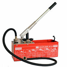 RP50 12 Litre Oil and Water Line Heating System Leakage Pressure Test Pump