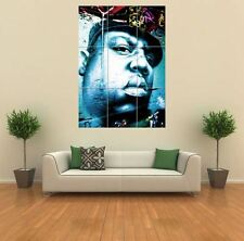 NOTORIOUS B.I.G BIGGIE SMALLS GRAFFITI NEW GIANT LARGE ART PRINT POSTER X108