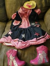 Pageant OOC- Custom Western Wear Set, Size 9 mo -12 mo, poss. small 18 months