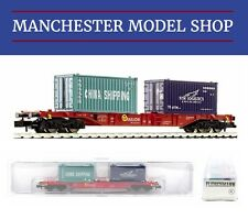 Fleischmann N 1:160 container wagon Sgns NYK & China Shipping DB AG NEW BOXED