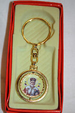 Keychain Metal Key Ring Keyring Our Lady Mother of God St. Nicholas
