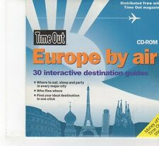 (FR371) Time Out, Europe By Air  - 2004 CD-ROM