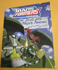 Transformers Animated: The Allspark Almanac Volume 1 IDW 2009 TPB Signed x 3