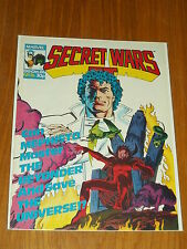 SUPER HEROES SECRET WARS #76 MARVEL BRITISH WEEKLY 13 DECEMBER 1986 MEPHISTO