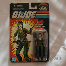 Action Force/GI Joe Cobra 25th Anniversary lady jay Silver Foil