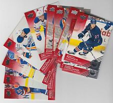 13-14 UPPER DECK EDMONTON OILERS BASE SET - FINISH YOUR SET LOW SHIPPING RATE