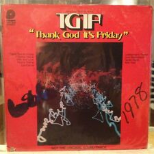 "{OST}~EXC LP~""THANK GOD IT'S FRIDAY""~[Music From The Motion Picture]~Pickwick~"