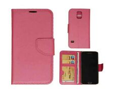 Samsung Galaxy S5  Real Leather Wallet Flip Cover Stand Case New N01-MA