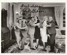 The Three 3 Stooges signed JULIE GIBSON photo costar with Curly Howard autograph